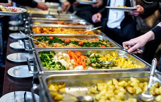 How to Eat Healthy At A Buffet - Direct from a Dietician