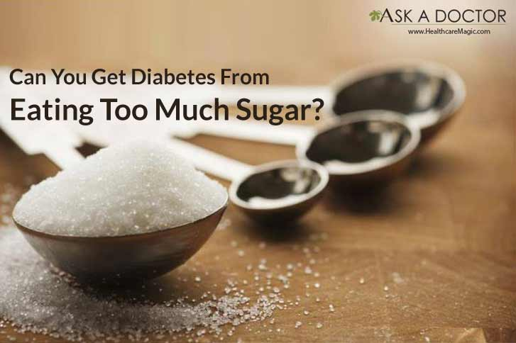 Truth or Myth: Eating too much sugar will cause diabetes!