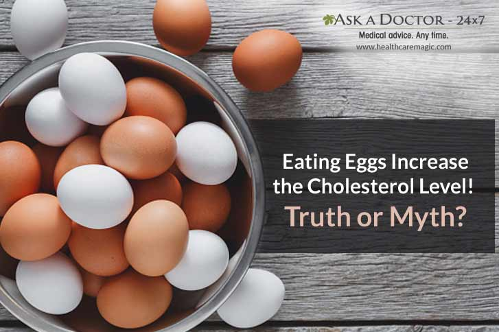Truth or Myth: Does Eating Eggs Raises the Cholesterol Level
