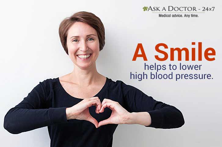 Can a Smile Help You to Lower Your Blood Pressure?