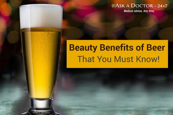 Did You Know Beer Can Help You Get Rid of Acne? Here Are Some Cool Benefits of Beer. Cheers!!