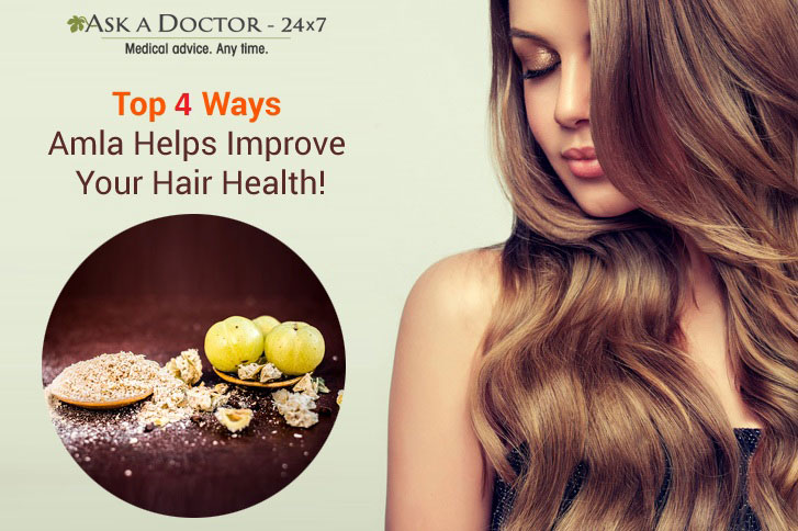 Fix All Your Hair Woes Using Amla - The Superfood for Your Hair!