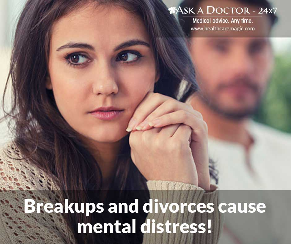 Breakups and Divorces Cause Mental Distress! Follow These 8 Simple Steps to Deal With The Pain!