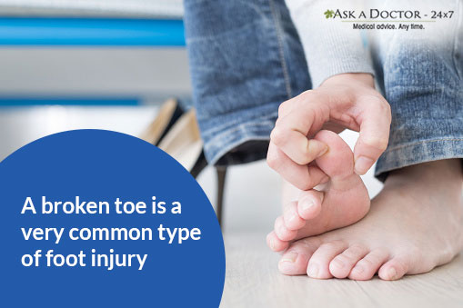Suspecting a Broken Toe? Here's All You Need to Know and DO!