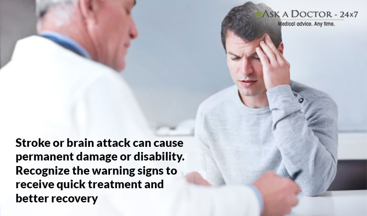 Recognizing 6 Warning Signs of Stroke And Know What To Do?
