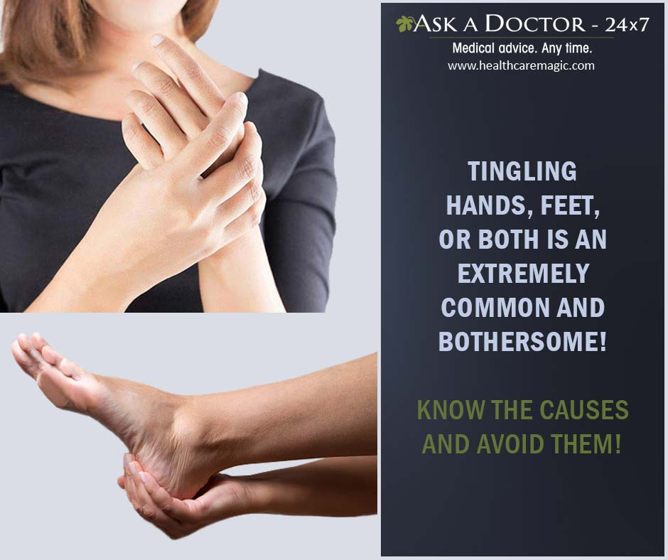 Tingling Sensation in Your Hands and Feet? Here Are Some Health Conditions That Can Cause It