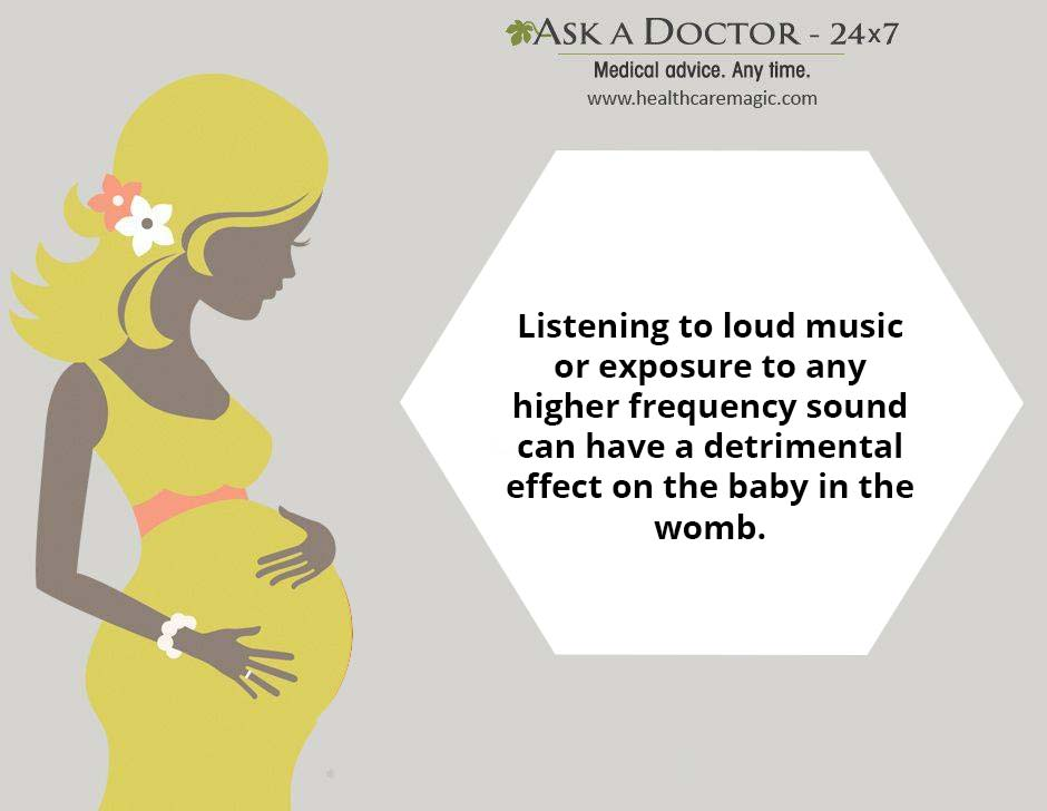 Is It Dangerous Listen to Loud Music or Noise During Pregnancy