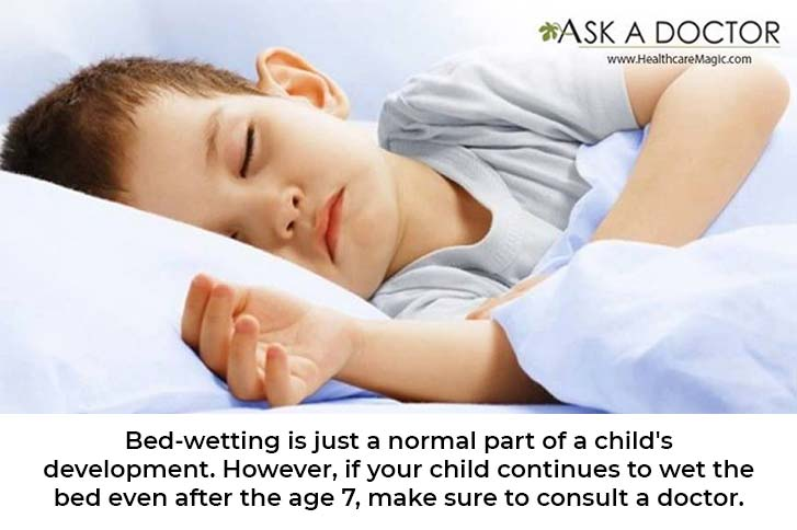 Wet Bed Again? Find Out What Is Developmentally 'Normal' for Children, and When to Seek Help!!