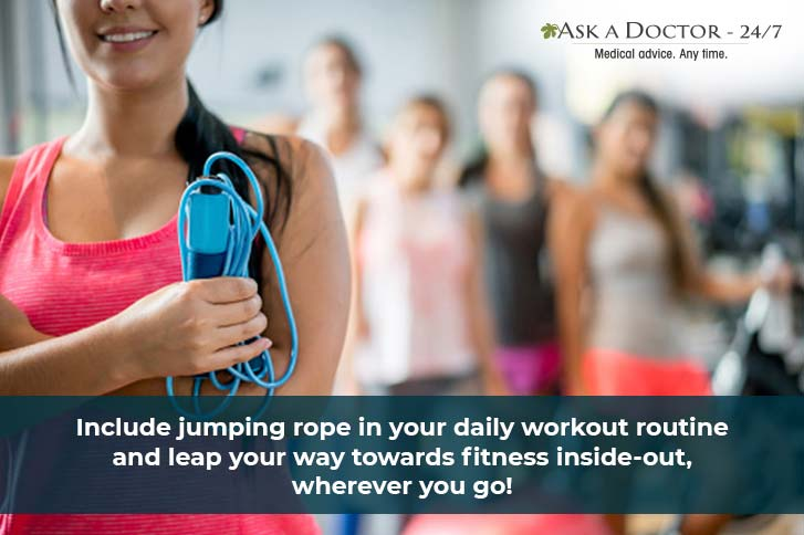 5 Reasons Why You Must Start Jumping Rope Every Day !!
