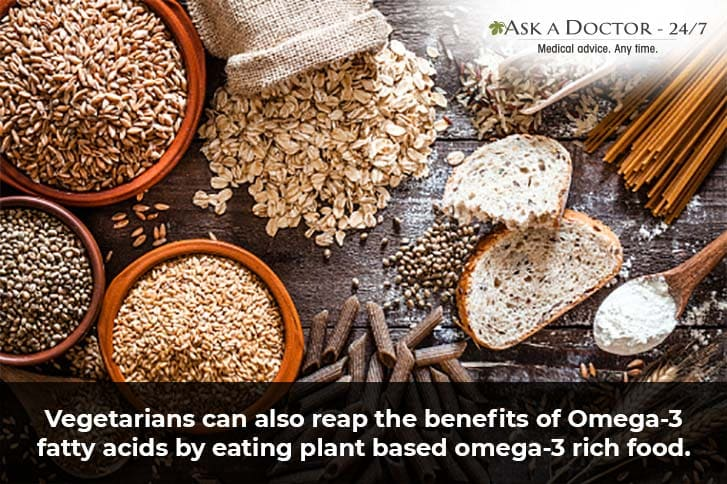 5 Sources of Omega 3 Fatty Acids Vegetarians Must Include In Their Diet