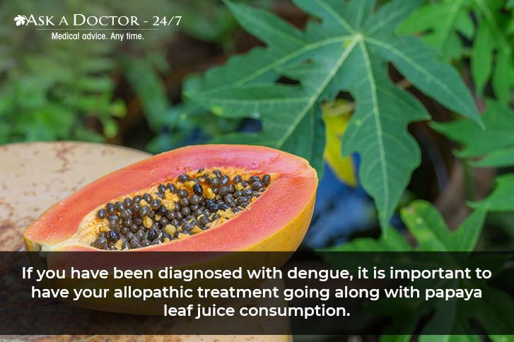 Papaya Leaf Juice: Does It Help Cure Dengue Fever? Here's What the Science Says!