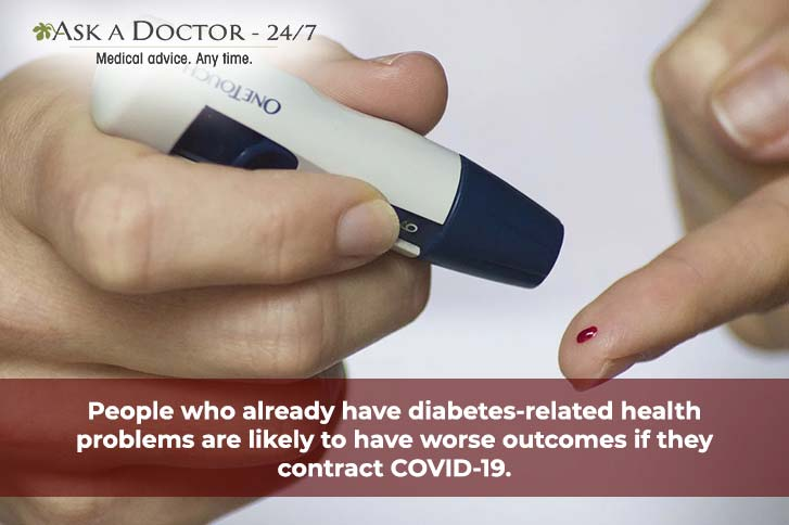 COVID 19 and Diabetes: 5 Steps to Stay Safe!